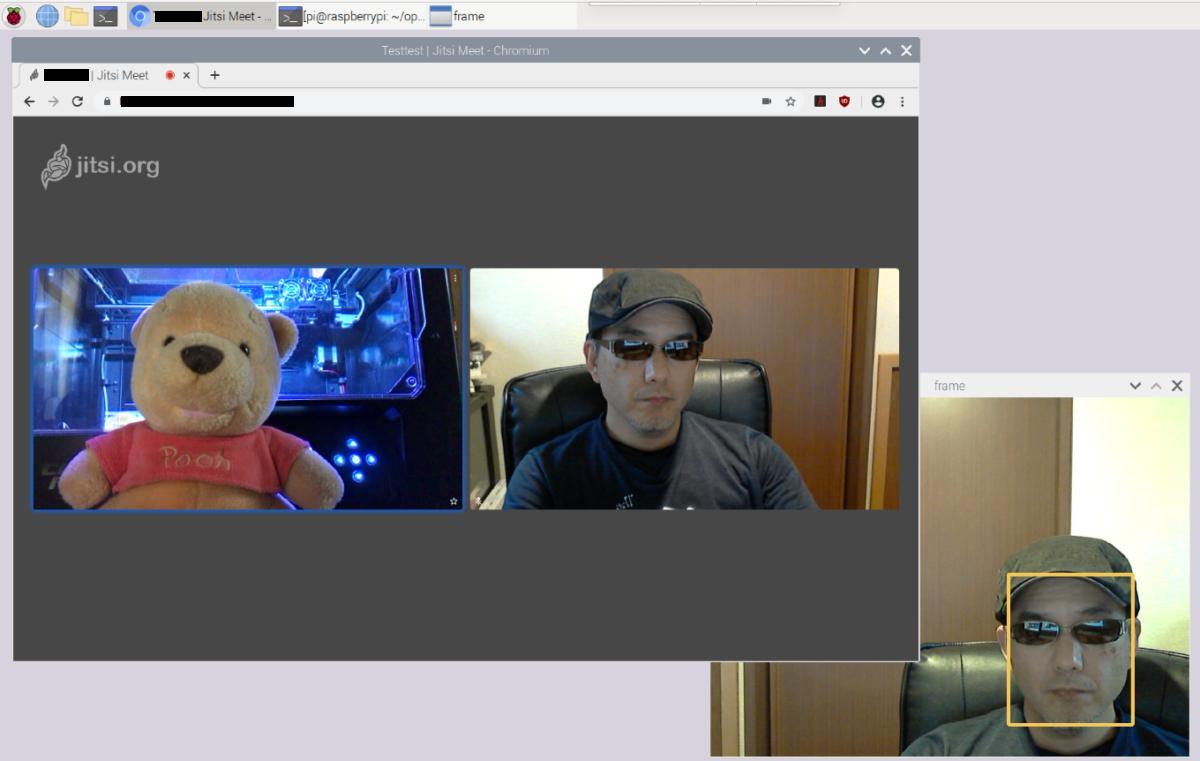 ビデオ会議でのwebカメラのオン・オフユースケース(顔認識編)
