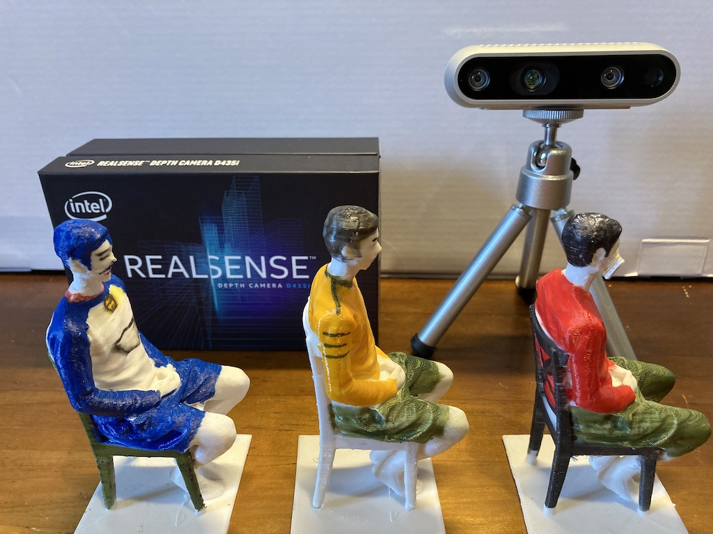 Intel® RealSense™ Depth Camera D435i を使ってみる(2)